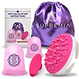 Product review for Original Anti Cellulite Vacuum Cup Set 2 pcs & Cellulite Massager Remover | Premium Medical Grade Silicone Suction Cups for Cellulite Body Vacuum Massage, Lose Weight and Muscle Relaxation