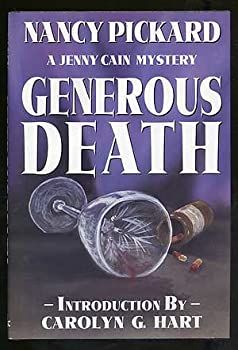 Generous Death: A Jenny Cain Mystery 0671732641 Book Cover