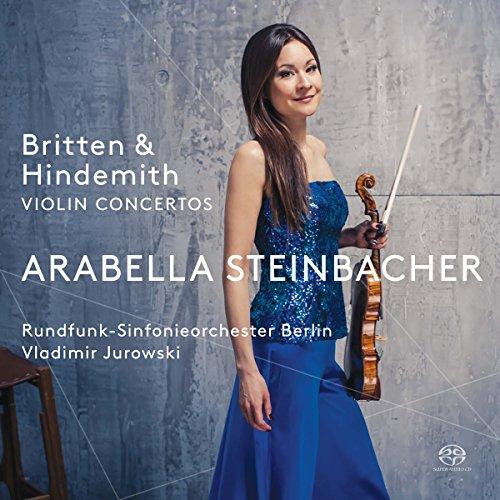 Price comparison product image Britten & Hindemith Violin Concertos