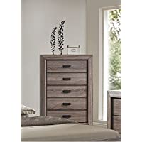 ACME Lyndon Weathered Gray Grain Chest