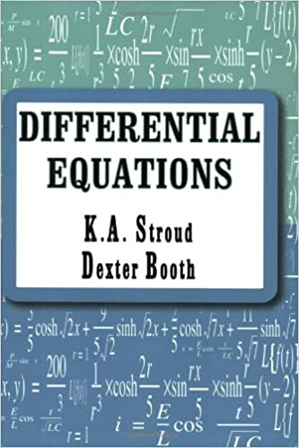 Differential Equations: K. A. Stroud, Dexter Booth: 9780831131876 ...