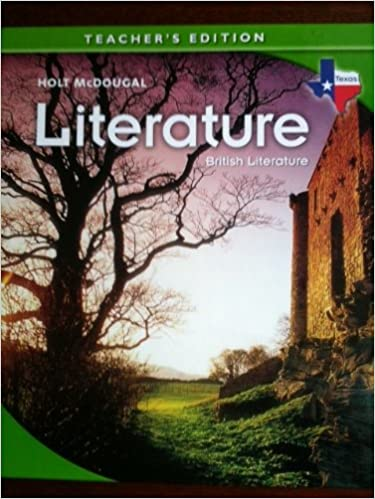 British Literature (Texas) (Teacher's Edition) (Holt