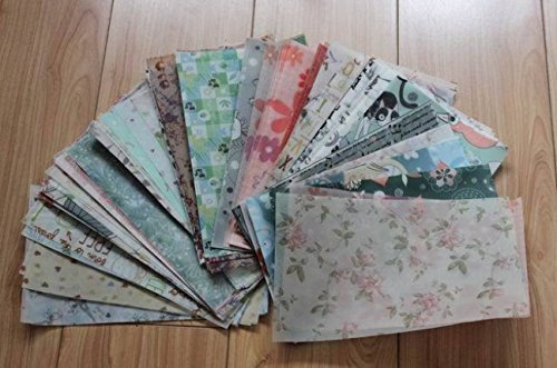 100pcs/pack 13*21cm Multi-patterns Gift Wrapper Handmade Soa