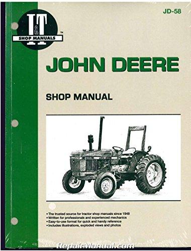 JD-58 John Deere 2150 ? 2555 Tractor Workshop Manual