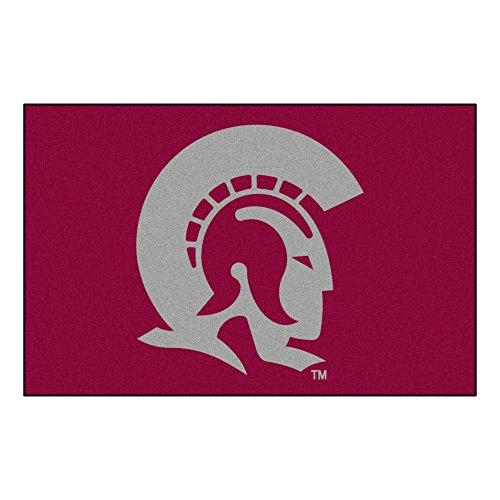 FANMATS NCAA Univ of Arkansas Little Rock Trojans Nylon Face Starter Rug