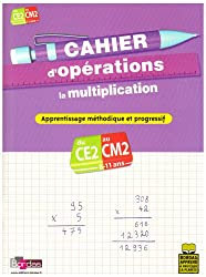 Cahier d'opérations CE2-CM2 : La multiplication