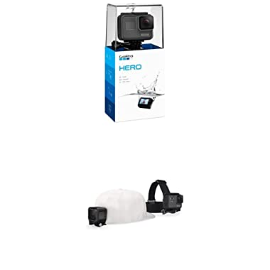 GoPro HERO (2018) with Headstrap Mount + QuickClip
