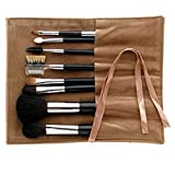 Ai (Love) * Japanese Natural Hair Professional makeup 8 pcs brush set - Black handles -