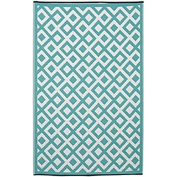 Amazon.com : 6\'x10\' - Bright Blue - Indoor/Outdoor Carpet : Area ...