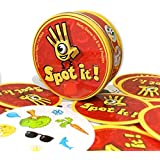 JAYSLE Funny Cards Game Family Parent-child Interactive Solitaire Game Party Card puzzle children's toys-Spot it!