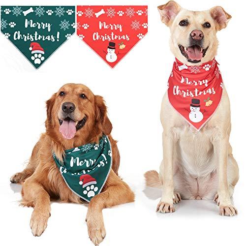 Odi Style Thanksgiving Dog Bandanas – 3 Pack Orange Teal Brown Thanksgiving Dog Costume for Small Medium Large Dogs…