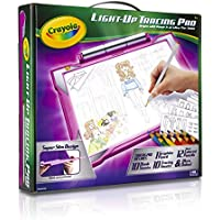 Crayola Light-up Tracing Pad Pink, Coloring Board for...