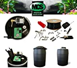 Mosquito Misting System, 55 Gallon Automated System, Do it yourself 30 Nozzle Kit, w/ Remote control, No Assembly Req
