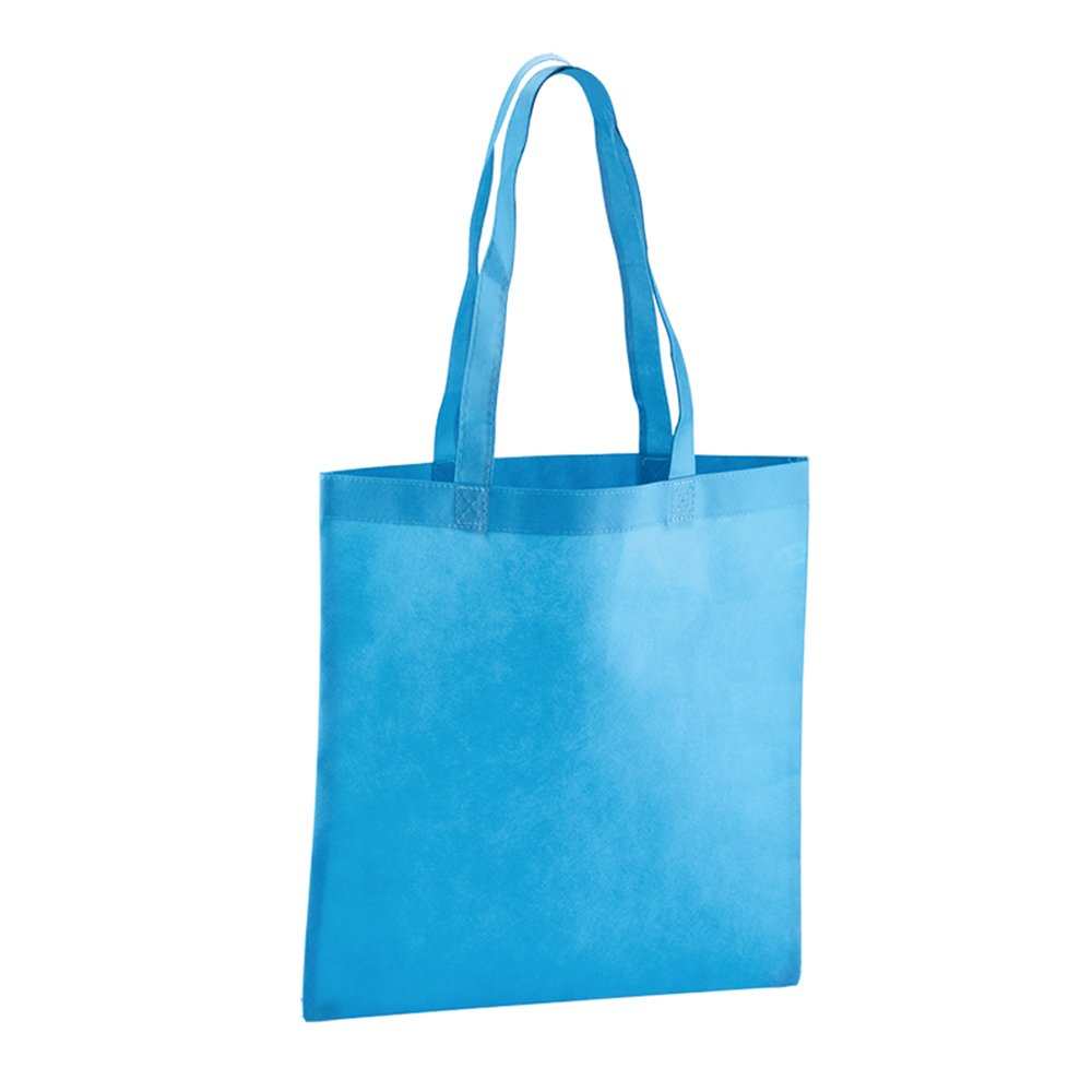 Value Tote - 50 Quantity - $1.80 Each - PROMOTIONAL PRODUCT / BULK / BRANDED with YOUR LOGO / CUSTOMIZED by Sunrise Identity (Image #3)