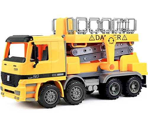 garbage truck with side loader - 7