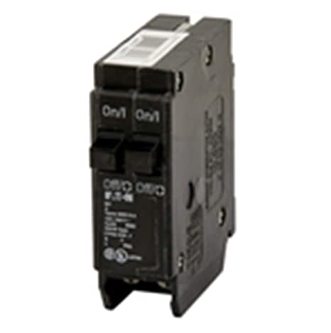 Two 15 Amp Cutler-Hammer//Eaton Twin or 2 Pole Type BRD BR1515 Circuit Breakers