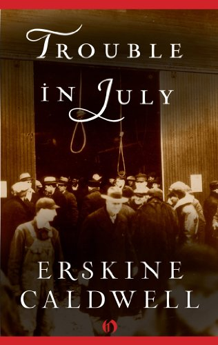 book cover of Trouble in July