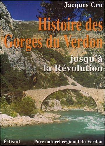 Livres gratuits Histoire des Gorges du Verdon pdf epub