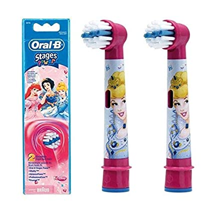 Amazon.com: Oral B EB10-1 Power Toothbrush Replacement Brush Head - 1 Kids Refill: Beauty
