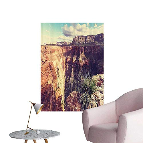 Wall Decals Exotic of Cany Rocks Formed Eroding Habita Feature of Geologic Movement Environmental Protection Vinyl,20