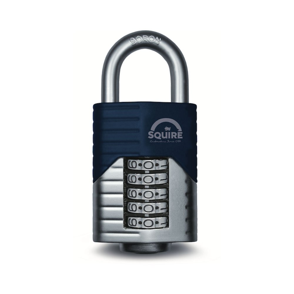 Henry Squire Vulcan 5 Wheel Open Shackle Combination Padlock, 60 mm Length Henry Squire & Sons Ltd. VULCAN COMBI 60