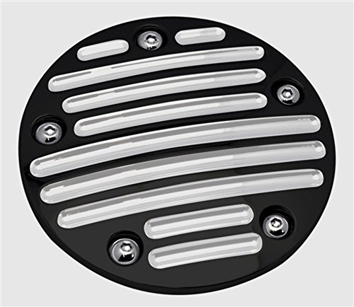 Billet Point Cover (Pro-One 203910B Harley 1999-Up TC88 Twin Cam Ball Milled Black Billet Point Cover)