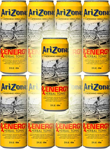 (Arizona Tea RX Energy Herbal Tonic, 23 Ounce Cans (Pack of 8, Total of 184 Oz))