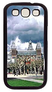 Dark Clouds Under The RijksmuseumCustom Samsung Galaxy S3 I9300 Case Cover Polycarbonate Black