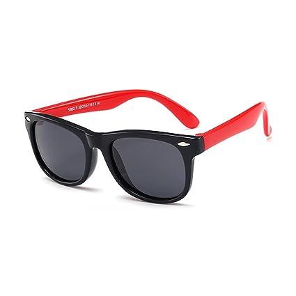 Pawaca - Gafas de sol polarizadas para niños y niños, antiradiación y anti rayos UV