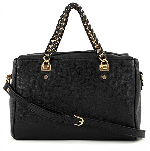 Liu jo Anna Chain top handle bag M Black
