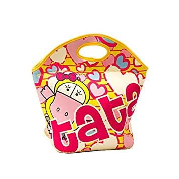 Amazon.com   Tata Waterproof Lunch Bag for Girls Pre-School Kids Teens -  Lindy And Friends Bags And Backpacks   Everything Else 2d9492504388b