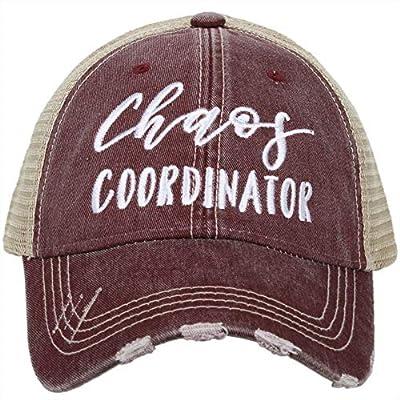 Katydid Womens Chaos Coordinator Trucker Hat