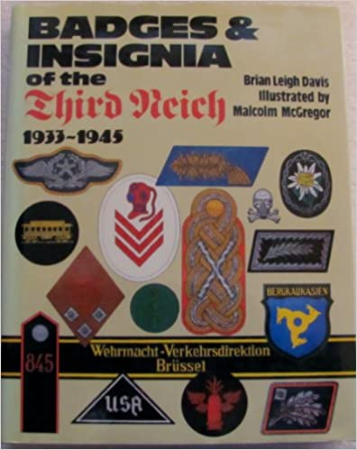 Book Badges and Insignia of the Third Reich, 1933-45