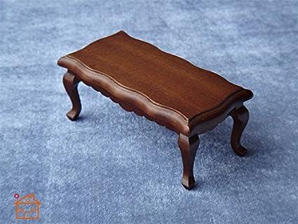 Amazon Com 1 12 Scale Dollhouse Miniature Coffee Table Living Room