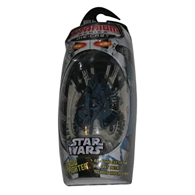 Star Wars Die-Cast Metal TITANIUM Series DROID TRI-FIGHTER Vehicle: Toys & Games