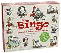 El Bingo de la Pequeña historia de España Infantil y juvenil Ficción: Amazon.es: Fernández Álvarez, Manuel: Libros