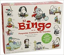 El Bingo de la Pequeña historia de España Infantil y juvenil ...