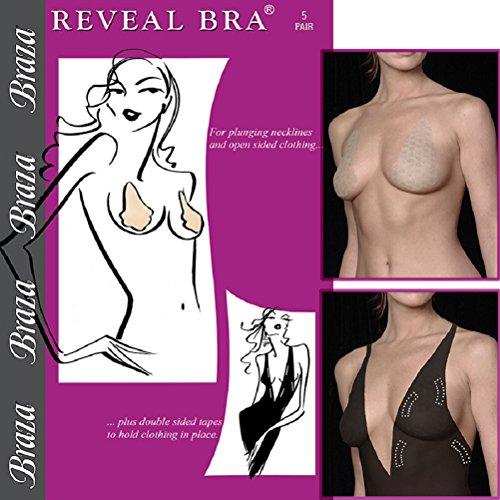 Braza Reveal - Beige Self Adhesive Bra (Lift Tape)