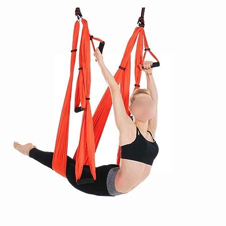 Uzanesx Juego de Columpio para Yoga Hamaca de Yoga, Trapecio ...