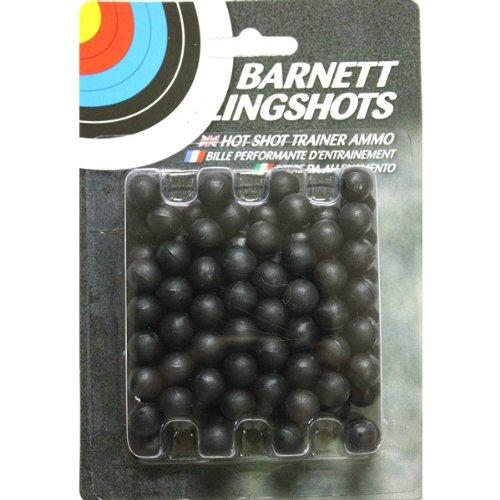 Barnett Slingshot - munitions pour lance-pierres - plastique - pack de 100