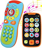JOYIN-My-Learning-Remote-and-Phone-Bundle-with-Music-Fun-Smartphone-Toys-for-Baby-Infants-Kids-Boys-or-Girls-B