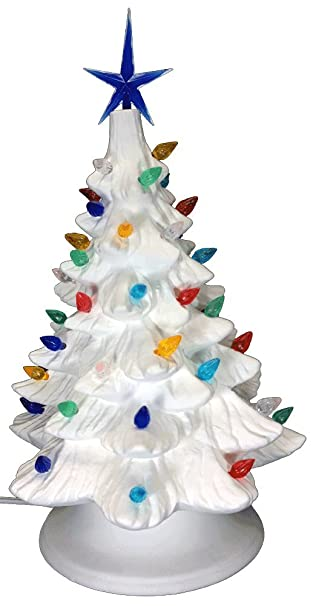 Amazon.com: Ceramic Bisque - Ready to Paint - Small Christmas Tree ...