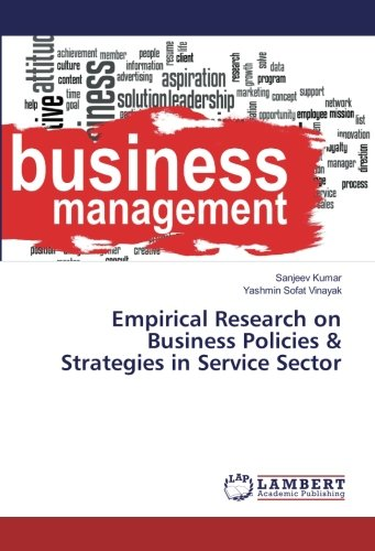 Empirical Research on Business Policies & Strategies in Service Sector ebook