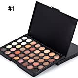 40 Color Matte Eye Shadow Pallete Make Up Earth Palette Eyeshadow Makeup Glitter Waterproof Lasting Makeup Easy To Wear 01