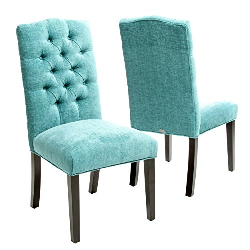- Best Selling Carson Crown Top Dining Chair, Green, Set of 2
