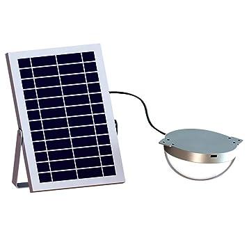 Tipo Partido PIR Sensor De Movimiento Control Remoto IP65 6V 3W Panel Solar Energía Exterior Interior