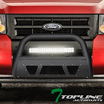 2006-2010 Mercury Mountaineer 2008-2011 Mazda Tribute Mercury Mariner Stehlen 714937183292 Advance Series Bull Bar Matte Black For 2008-2012 Ford Escape