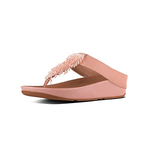 1beb61ad273ef0 Image Unavailable. Image not available for. Color  FitFlop Rumba Toe-Thong  Sandals ...