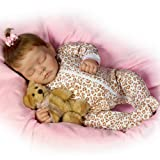 Sweet Dreams Ellie Lifelike Doll With Plush Teddy-Bear - 16