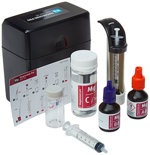 Red Sea Fish Pharm ARE21415 Saltwater Magnesium Pro Test Kit for Aquarium, 100 Tests (Sea Red Reef Lab)